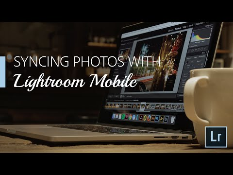 Lightroom Coffee Break: Syncing Photos with Lightroom Mobile