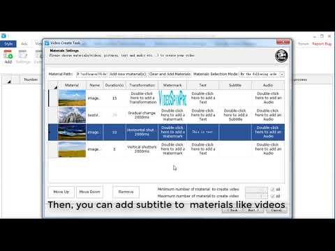 video creating software, video mass downloander, spinner and uploader