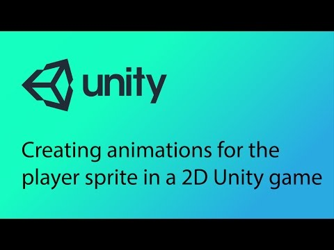 Unity 2D Game Design Tutorial 14 - Creating animations for the player sprite