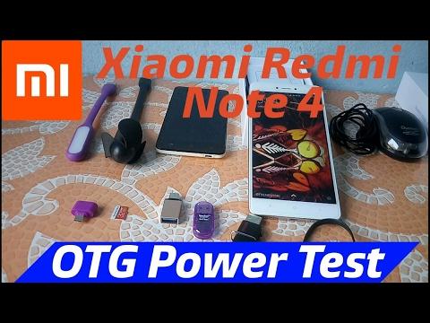 Xiaomi Redmi Note 4 USB OTG Support/Test & A to Z USB Itam Test & OTG Power Test 2017......