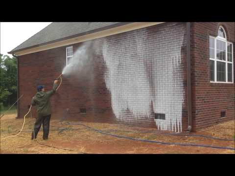 HydroClean Pressure Washing New Construction Brick Cleaning