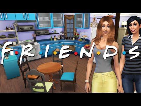 FRIENDS TV SHOW | Monica & Rachel's Apartment | Sims 4 Speed Build