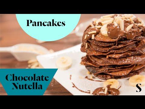 Pancake Day - Chocolate Nutella Pancakes