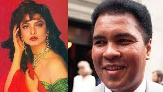 When Muhammad Ali meet Rekha on His Visit to India | Paperwala