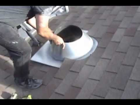 How to Install a Chimney Pipe Roof Flashing