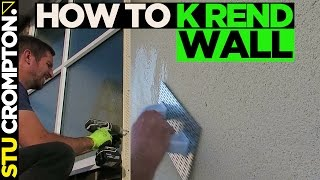 How to k rend board with top coat and scratch finish