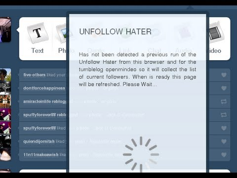 How to check who unfolllowed you on Tumblr
