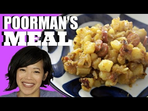 Clara's Great Depression POORMAN'S MEAL & Potato Peel Chips | HARD TIMES