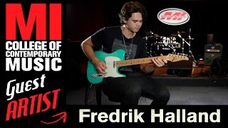 Download Fredrik Halland   Being A Session Musician Video