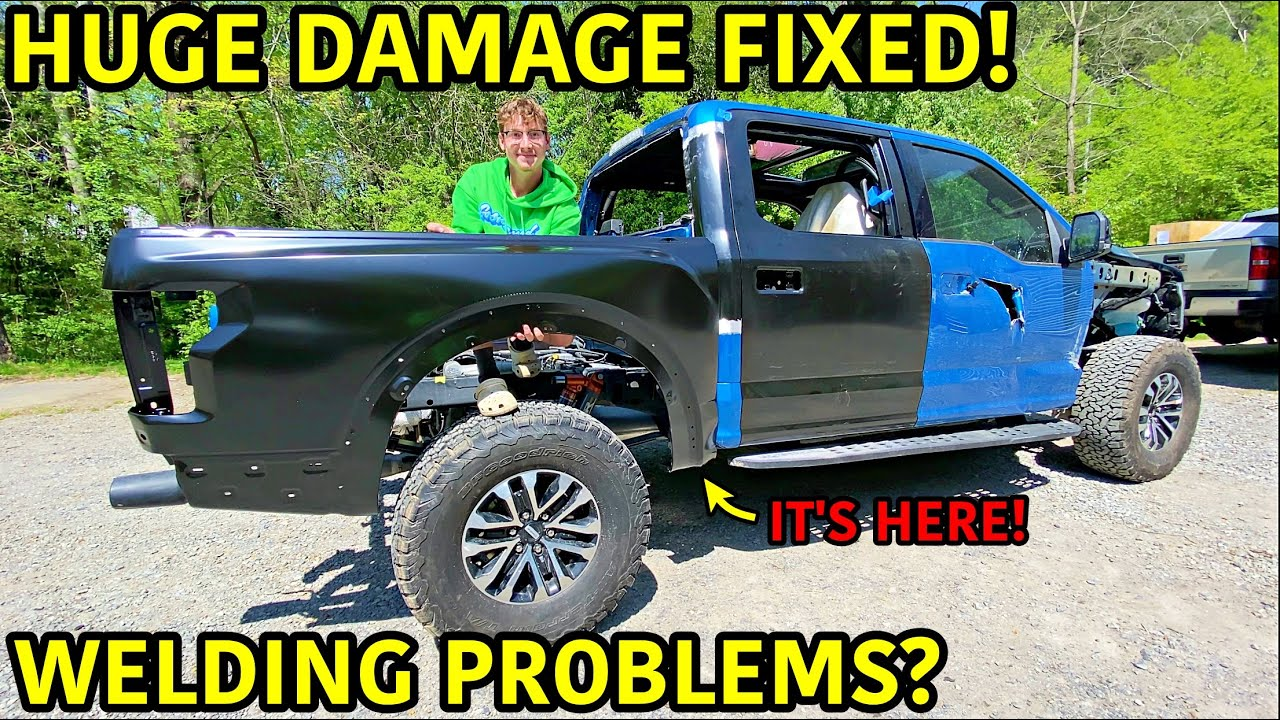 Rebuilding A Wrecked 2019 Ford Raptor Part 6