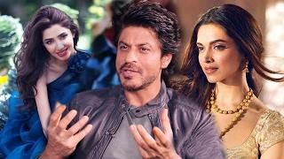Shahrukh Khan COMPARES Mahira Khan With Deepika Padukone - Raees