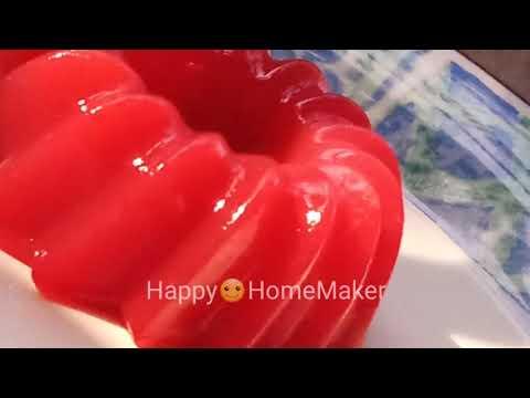 Strawberry Jelly | Homemade | Vegetarian | Easy | Vegan