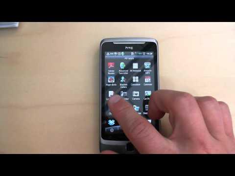HTC Desire Z: Going to address book