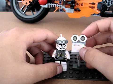 Lego Black Ops Sam Turret and Sentry Gun