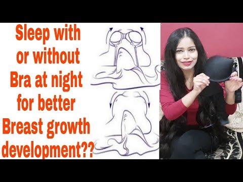 रात को Bra पहन के सोए या उतार के? Breast growth & development मे क्या Role है  Bra का