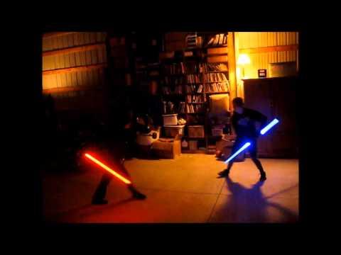 Epic Lightsaber Battle #5 (Double Bladed)