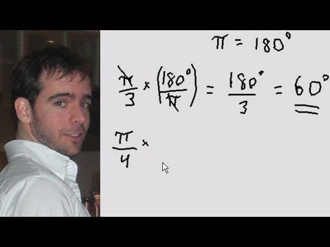 Conversion of radians to degrees and vice-versa - Quick Explanation