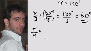 Conversion Of Radians To Degrees And Vice Versa Quick Explanation