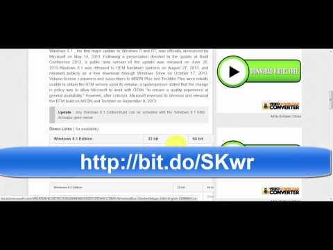 Microsoft Windows 8 1 OEM ISO Download