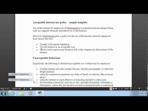 SharePoint 2010 Co-Authoring Part 1 (Word 2010)