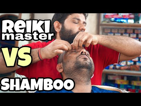 Xxx Mp4 Reiki Master VS Shamboo Barber Head Massage Crackings ASMR Indian Barber Indian Massage 3gp Sex