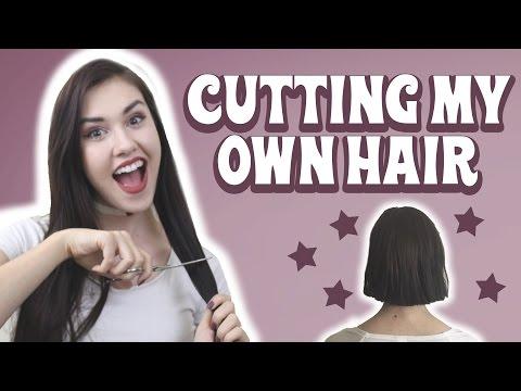 Cutting my Hair into a Bob ★
