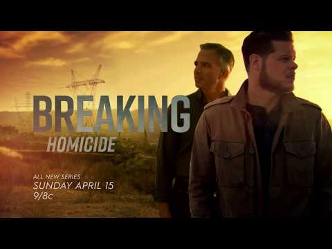 Breaking Homicide – All New Series Sunday, April 15 9/8c