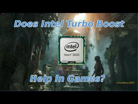 Does Intel Turbo Boost help in games?