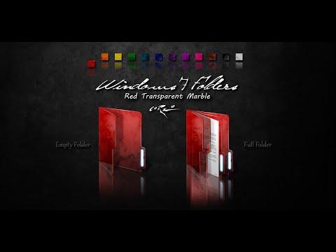 How To Change Color Folder-Windows 7