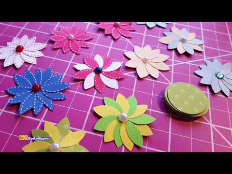 Quick & Easy Circle Punch Flowers   Paper Crafting