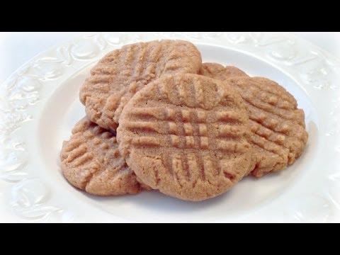 LUCKY COOKIE! 4 Ingredient Peanut Butter Cookies