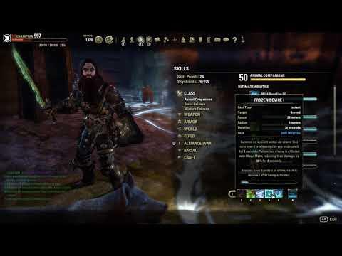 Warden Tank Frost Giant Build Dragon Bones Update