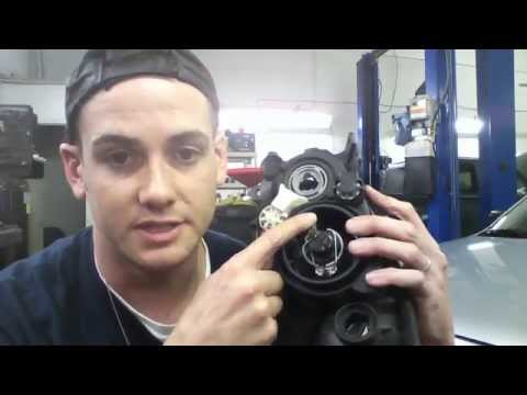 Mazda3 Headlight Bulb Replacement 2004 and up How to