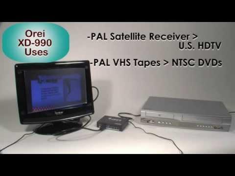 NTSC RCA HDMI to HDMI DIGITAL Video Signal Converter Box