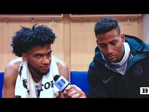 DBP Exclusive: Javin DeLaurier and Marvin Bagley III After ND Win  (3/8/18)