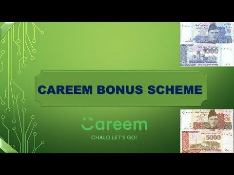 Careem Revised / New Bonus scheme