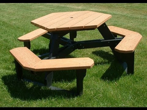 Hexagonal Picnic Table