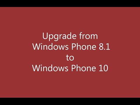 How to Upgrade Windows Lumia Phone 8 , 8.1 to  10 Preview version ?