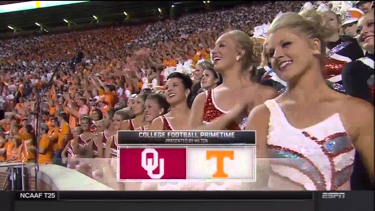 OU vs Tennessee 2015 - 4th quarter and 2OT