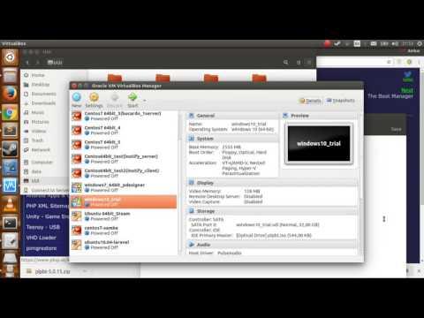 Virtualbox - boot from usb (Ubuntu16.04 live)