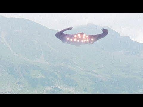 Strange UFO filmed by hikers in CROATIA !!! January 2018