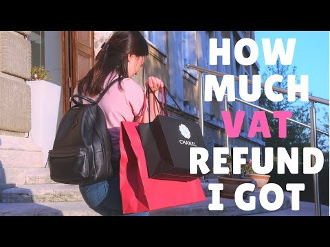 HOW MUCH VAT REFUND I GOT FROM SHOPPING IN ITALY