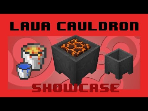 Lava Cauldrons - Safe disposal + Hidden feature