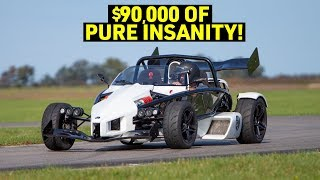 The 365HP ARIEL ATOM 3S Cannot be TAMED!