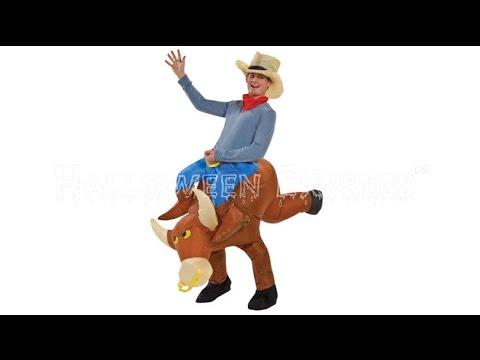 Bull Rider Inflatable Costume