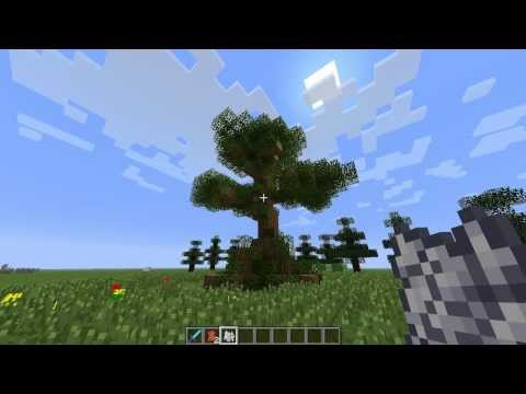 Minecraft 1.6.4 how to grow Glorious trees TUTORIAL