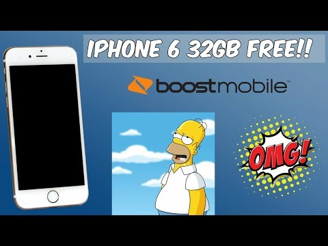 Get An IPhone 6 32Gb Free Boost Mobile Facebook Coupon Promotion (HD)