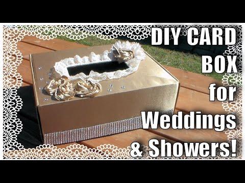 Card Box For Weddings or Showers // DIY Wedding