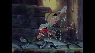 Pinocchio (1940) - Search & Escape from Monstro