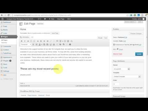 How to Display Recent Posts Within Pages and Posts with Shortcodes